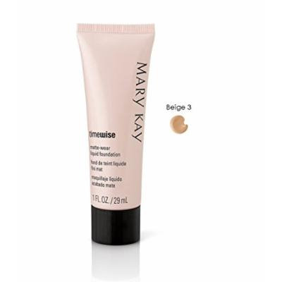 Mary Kay TimeWise Matte-Wear Liquid Foundation for Combination/Oily Skin (Beige 3)