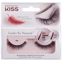 Kiss Products Looks so Natural Lashes, Shy, 0.03 Pound (Pack of 3)