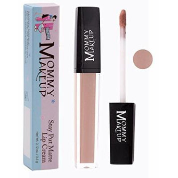 Stay Put Matte Lip Cream | Kiss-Proof Matte Lipstick - Paraben Free - Twiggy, a sandy pink beige