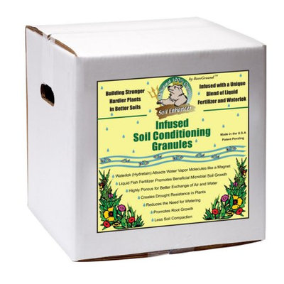 Just Scentsational Trident's Pride by Bare Ground 15 lb. Ready-to-Use Soil Conditioning Granules Box