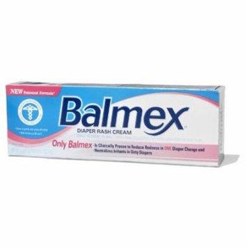 5 Pack - Balmex Zinc Oxide Diaper Rash Cream 4oz Each
