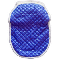 Tadpoles Blue Quilted Nylon Puffer Car Seat/Stroller Cover