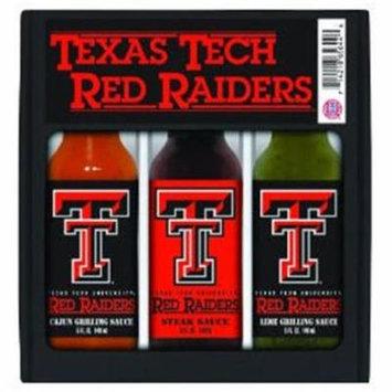 Hot Sauce Harrys 5744 TEXAS TECH Red Raiders Mini Grilling Set - 5oz