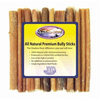 Shadow River 10 Pack 6 Inch Regular All Natural Premium Beef Bully Sticks For Dogs