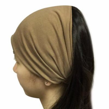 Wrapables® Wide Fabric Headband, Tan