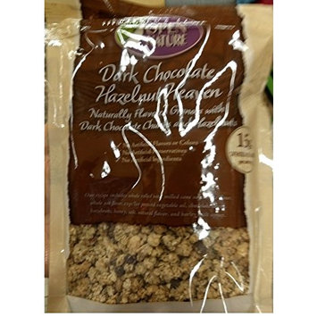 Open Nature Dark chocolate Hazelnut cereal 12oz, pack of 1