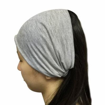 Wrapables® Wide Fabric Headband, Slate