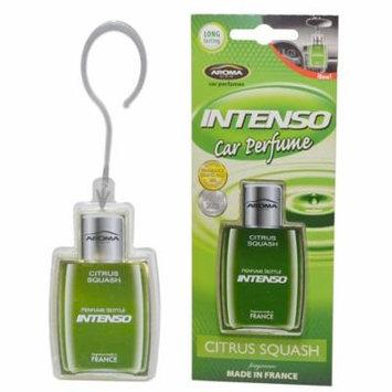 Aroma Intenso GEL Car Perfume Long Lasting Car Air Freshener, Citrus Squash