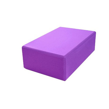 ROSENICE EVA Foam Yoga Block Brick Yoga Pilates Bricks EVA Foam Block Sports Fitness Gym(Purple)