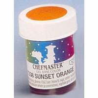Chefmaster Concentrated Gel Color, 1 oz. Buckeye Brown