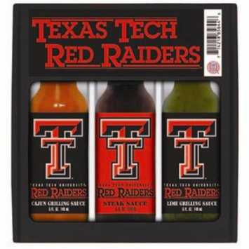 Hot Sauce Harrys 5644 TEXAS TECH Red Raiders Mini Grilling Set - 5oz