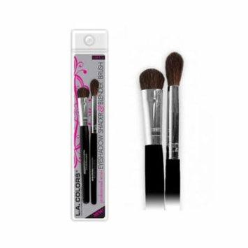 (6 Pack) LA COLORS Eyeshadow Shader & Blender Brush - Eyeshadow Shader & Blender