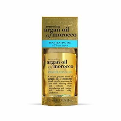 2 Pack Organix Renewing Argan Oil Of Morocco Penetrating Oil 3.3 Oz Each