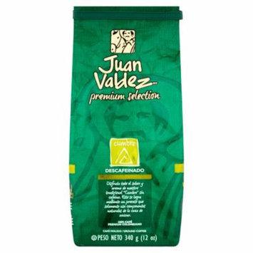 Juan Valdez Premium Selection Decaffeinated Cumbre Ground Coffee, 12 Oz