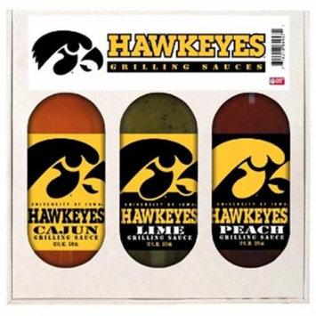 Hot Sauce Harrys 5727 IOWA Hawkeyes Mini Grilling Set - 5oz