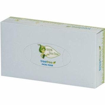 Green2 Facial Tissue Flat 100 Sheet, 30 count