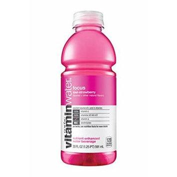 Glaceau Vitamin Water 12 - 20Floz Bottles (focus kiwi-strawberry)