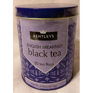 Bentleys English Breakfast Black Tea, 50 Tea Bags
