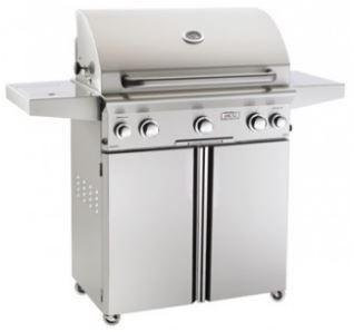 American Outdoor Grills 30 AOG Freestanding T Series Grill w/Burner, Rotisserie - NG