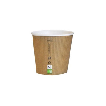 Packnwood 210GCBIO3 3 oz Nature Paper Cup 2.2 x 2.2 in.