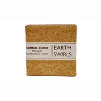 Earth Swirls Sandal Scrub - Natural Handmade Soap
