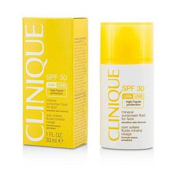 Mineral Sunscreen Fluid For Face SPF 30 - Sensitive Skin Formula 1oz