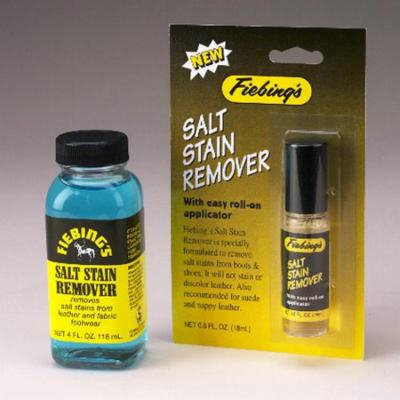 FIEBING'S SALT STAIN REMOVER FROM LEATHER FABRIC FOOTWEAR 4 OZ