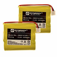 Synergy Digital Cordless Phone Batteries - Replacement for V Tech 80-5071-00-00 Cordless Phone Battery (Set of 2)