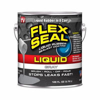 Flex Seal Liquid Rubber in a Can, 1-gal, Gray