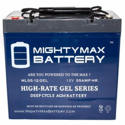 12V 55AH GEL Battery for John Deere 3520, 3720 Utility Tractor