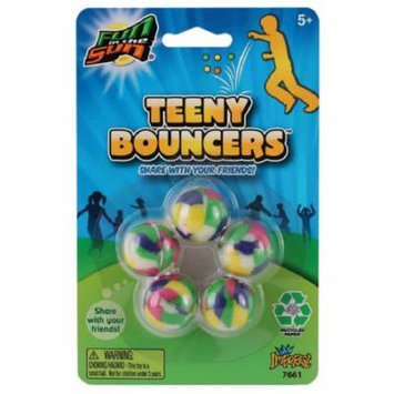 Imperial Toy Corp 07661 Fun In The Sun Teeny Bouncers Assorted Colors 5 Count