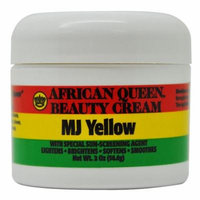 African Queen Beauty Cream MJ Yellow 2 Oz / 56.6 g