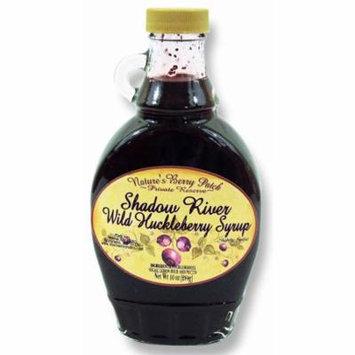 Shadow River Wild Huckleberry Gourmet Syrup 10 oz Jar