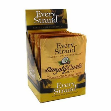 Every Strand Simply Curls with Coconut Oil and Shea Butter Professional Curling Creme, 1.75 oz