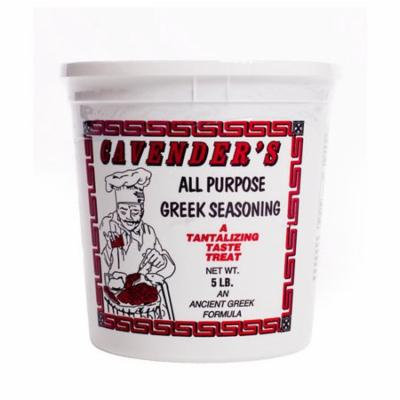Cavenders All Purpose Greek Seasoning, 5lb