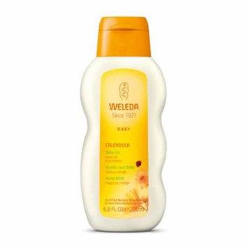 Weleda 1267418 Calendula Baby Oil, 6.8 fl oz