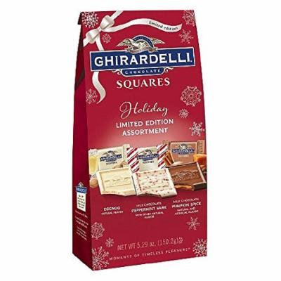 Ghirardelli Chocolate Squares Holiday Limited Edition Assortmet