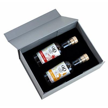 QO Gourmet High Density Infused Balsamic Vinegar , Duo Gift Set of 2 , HOT CHILI & CITRUS , 8.45 fl-oz (250 ml) each , Product of Italy