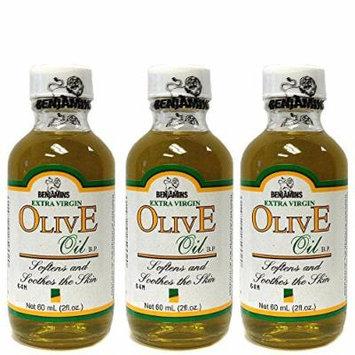 Benjamin's Extra Virgin Olive Oil 2oz (Pack of 3)