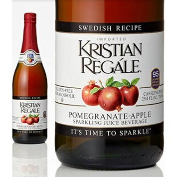 Kristian Regale Sparkling Fruit Juices 4 Packs (Pomegranate-Apple)