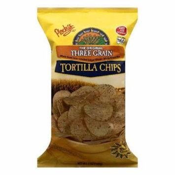 Plockys The Original Three Grain Tortilla Chips, 7 OZ (Pack of 12)