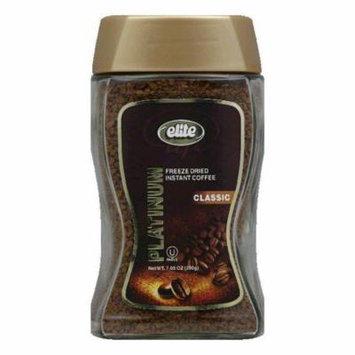 Elite Platinum Instant Coffee, 7.05 OZ (Pack of 6)
