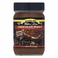 Walden Farms Peanut Chocolate Spread, 12 OZ (Pack of 6)