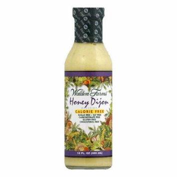 Walden Farms Salad Dressing Honey Dijon Sugar & Calorie Free No Carb, 12 OZ (Pack of 6)