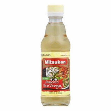 Mitsukan Rice Vinegar Seasoned, 12 OZ (Pack of 6)