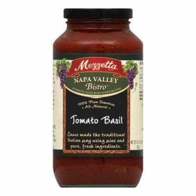 Mezzetta Pasta Sauce Tom Basil, 25 OZ (Pack of 6)