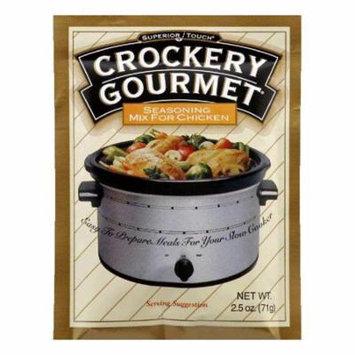 Crockery Gourmet Chicken Crockery Cooking Seasoning Mix, 2.5 OZ (Pack of 12)