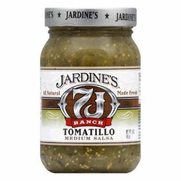 Jardines Tomatillo Salsa Medium, 16 OZ (Pack of 6)