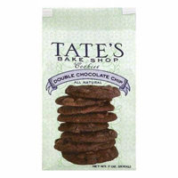 Tates Bake Shop Double Chocolate Chip Cookies, 7 OZ (Pack of 6)