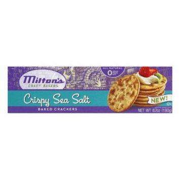 Milton's Sea Salt Crackers, 6.7 OZ (Pack of 12)